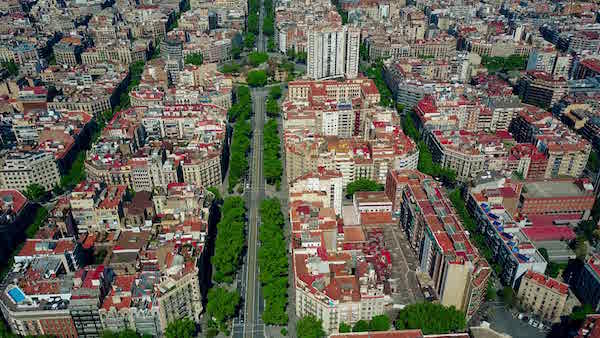 Barcelona urban planning