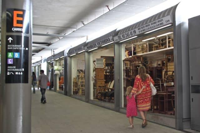 Encants Vells, an open market, Barcelona, Spain