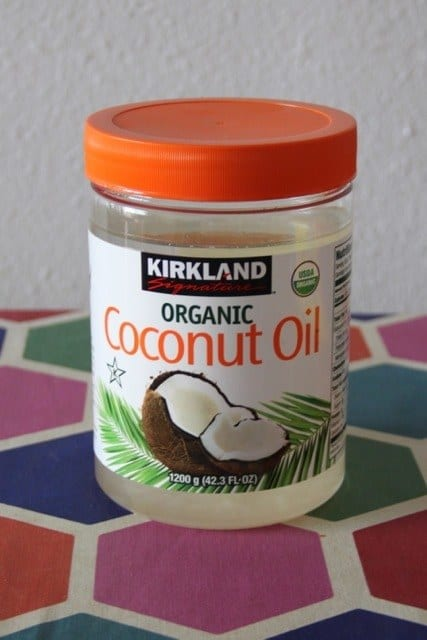 A whole lotta coconut oil.