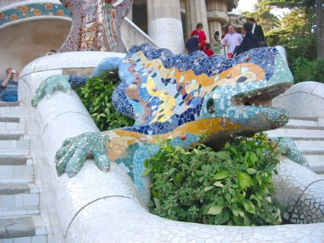 Dragon Barcelona Parc Guell