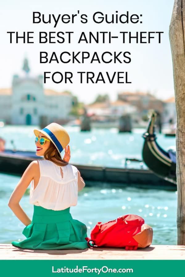 Compare the best anti-theft backpacks for travel