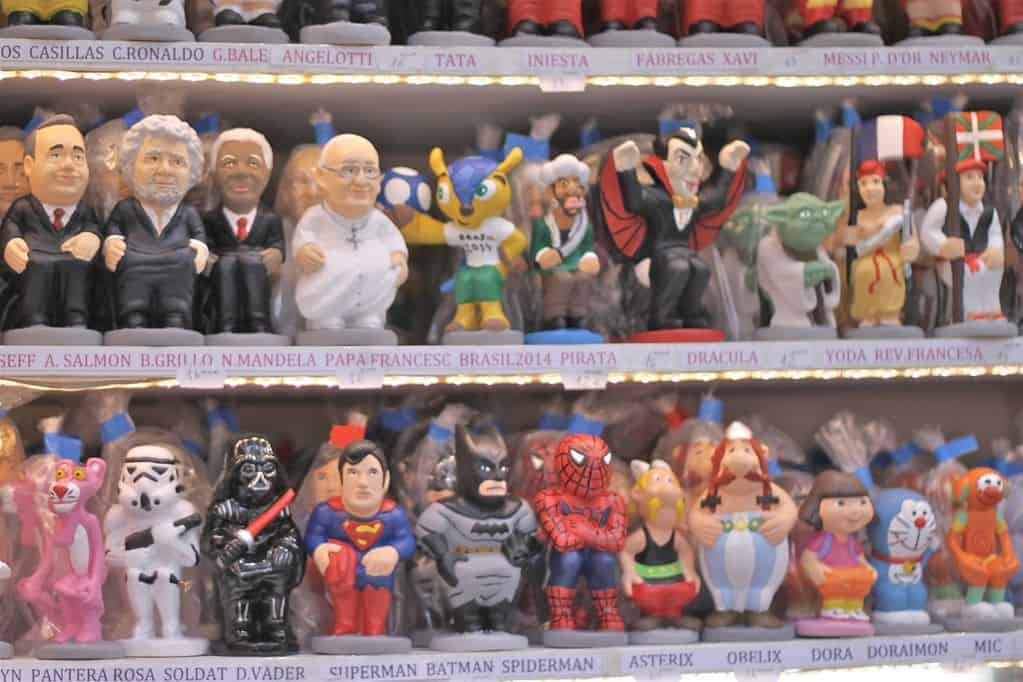 Famous poopers, i.e. caganers