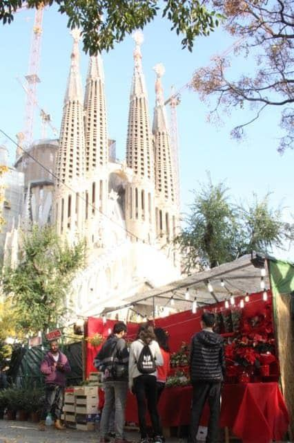 Christmas at Sagrada Familia