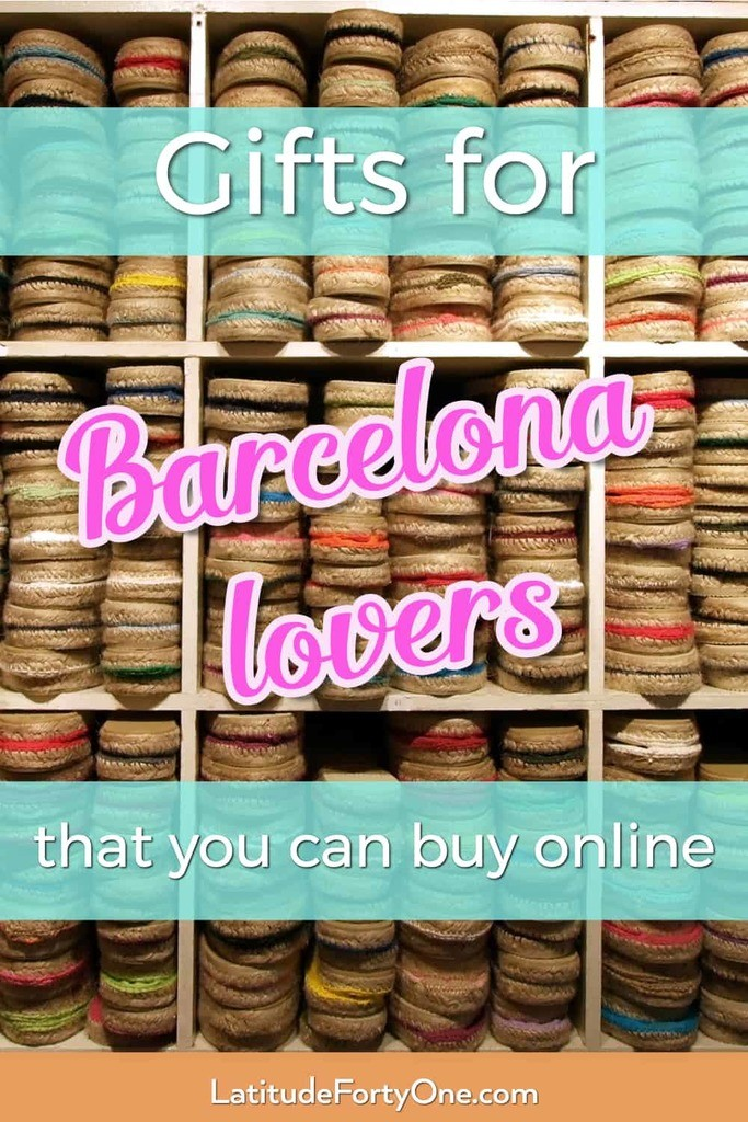 Gifts for Barcelona lovers that you can buy online