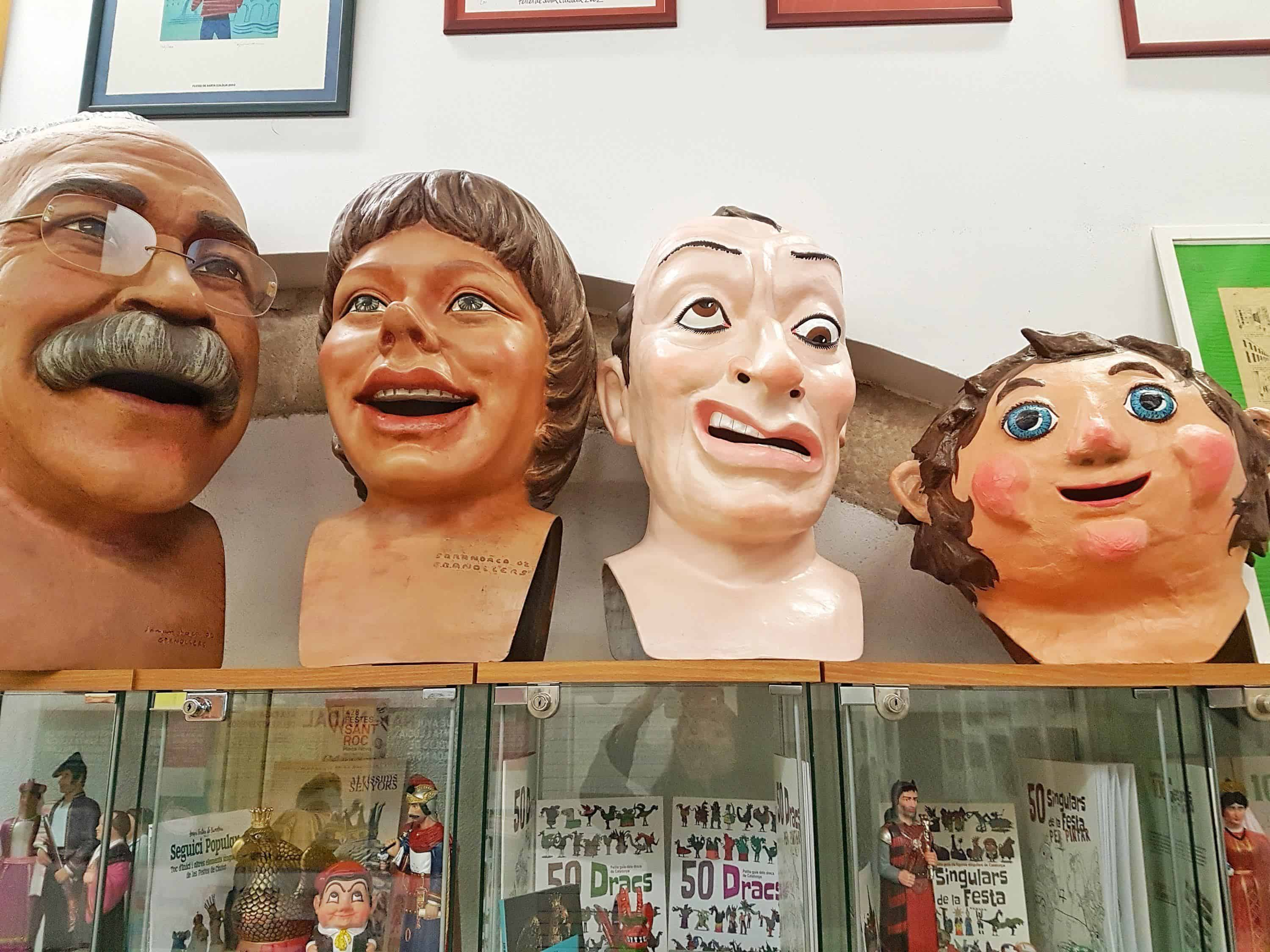 La Casa dels Entremesos, Barcelona. A museum of giants, puppets, and beasts in Catalan culture.