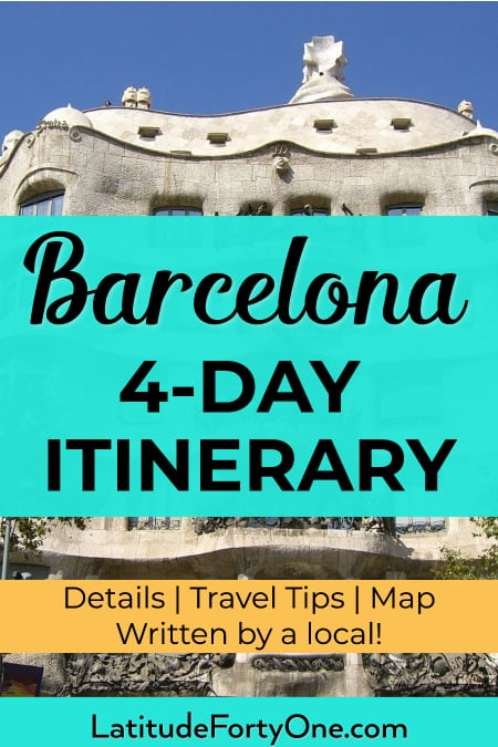 Plan your Barcelona itinerary: 4 days in this Catalan capital!