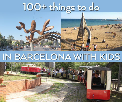 Discover 100+ things to do in Barcelona, kids' edition