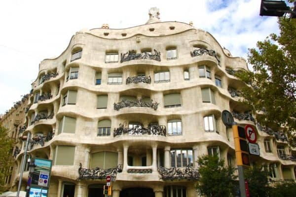 What to visit in Barcelona: La Pedrera by Antoni Gaudí
