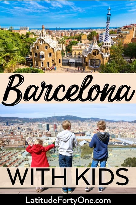 Barcelona family activities