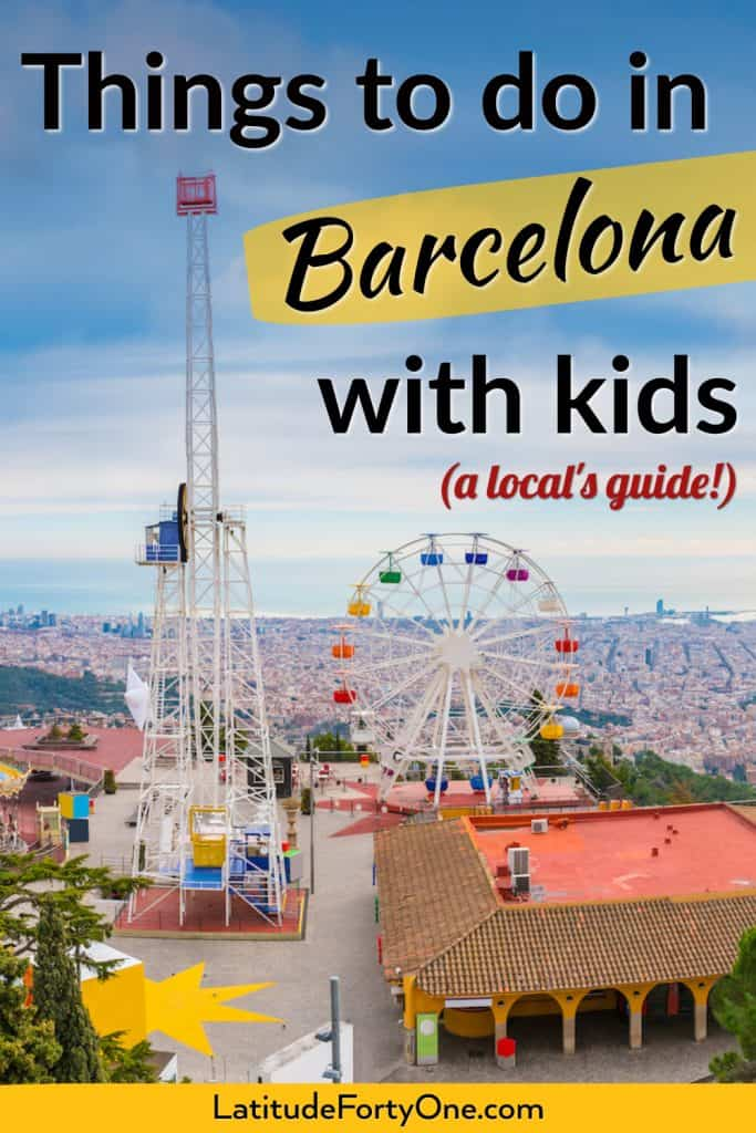 Find classic and unique things to do in Barcelona with kids! 100+ ideas for your Mediterranean trip