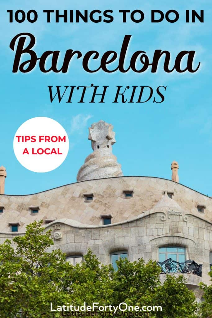 Barcelona, Spain, is a family-friendly city. Here are 100+ things to do in Barcelona with kids
