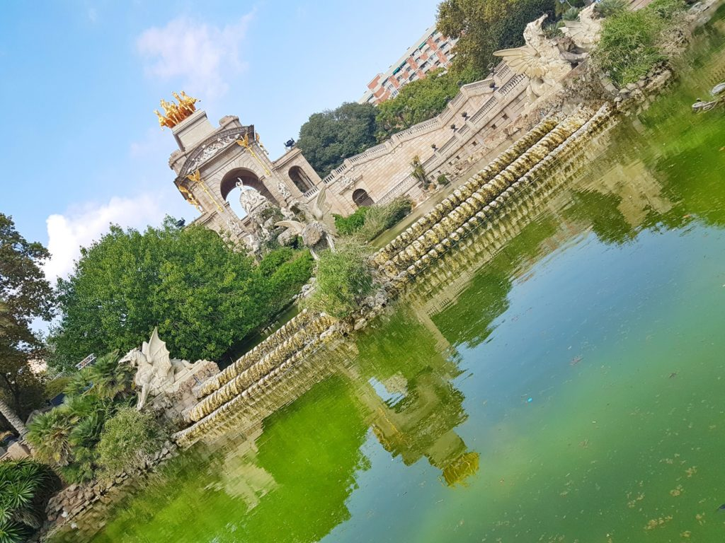 Park Ciutadella, one of the most peaceful Barcelona attractions