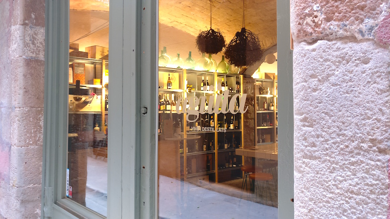 Aguita, a Barcelona restaurant wine bar