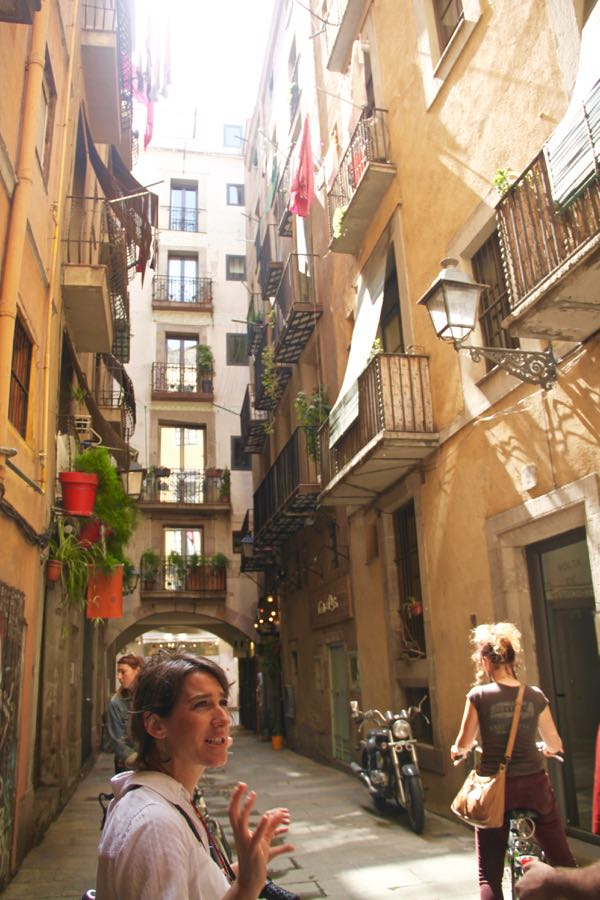 What to do in Barcelona? Take a bike tour!