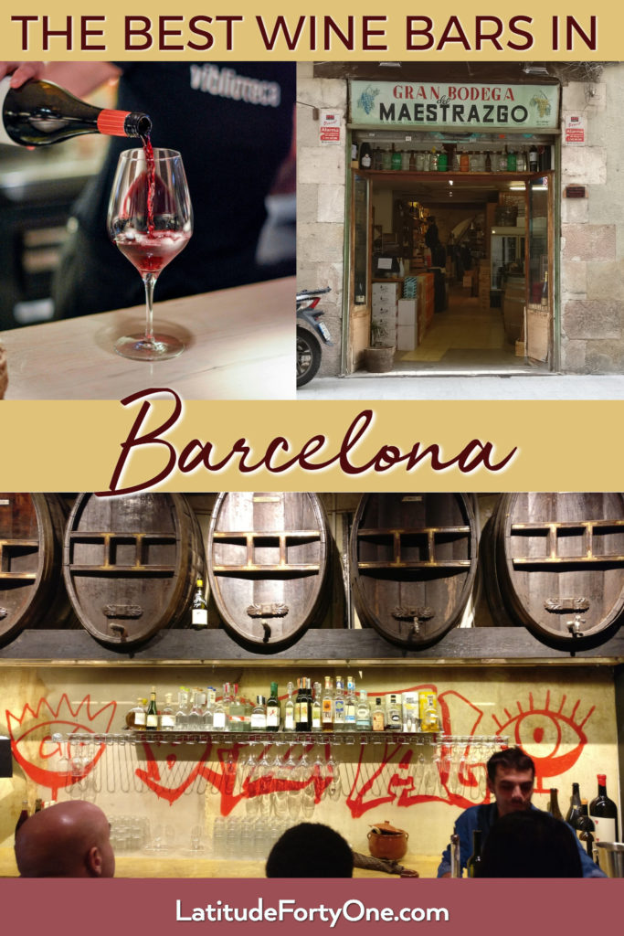 The Most Unpretentious Wine Bars in Barcelona