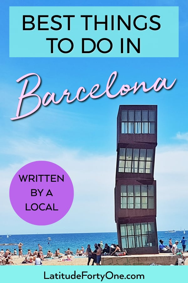 "Find the top things to see in Barcelona, Spain. Plan your trip by seeing the best Barcelona attractions and having an authentic ""local"" experience. Written by a local!"