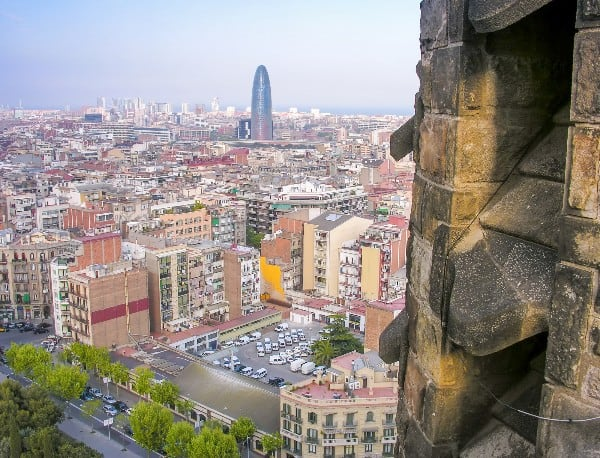 Check out the best panoramic views of Barcelona.