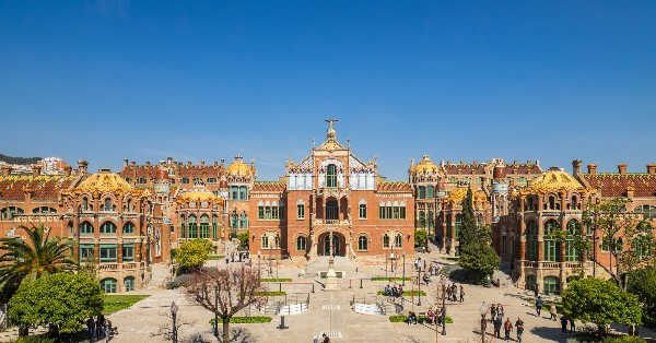 Recinte de Sant Pau, one of the underrated best places to see in Barcelona, Spain
