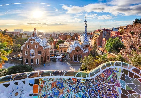 See Park Guell: one of the best things to do in Barcelona