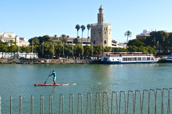 Places to visit in Seville, Spain: get a view of the Torre del Oro