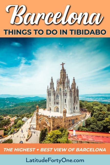 What to do in Tibidabo, Barcelona. An essential guide on this underrated area of Barcelona.