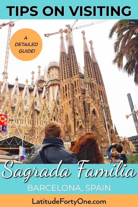 Ultra practical tips for visiting the Sagrada Familia, Barcelona, Spain. Tips for buying tickets, which towers to visit, and more.