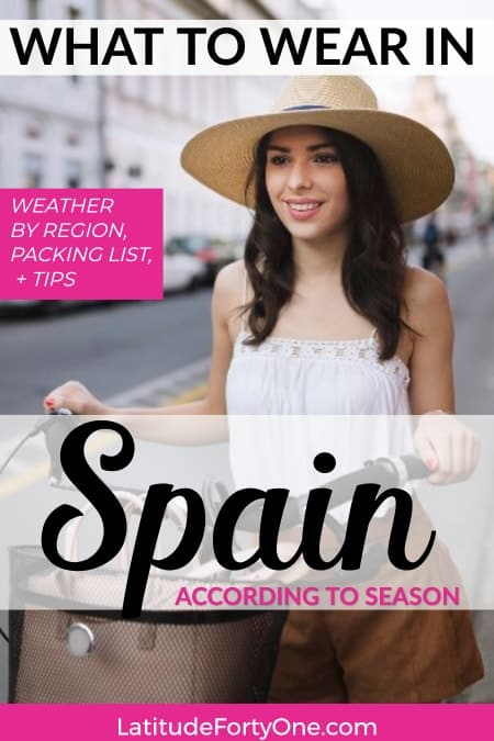 Clothing in Spain: What to bring to Spain so you don't look like a tourist