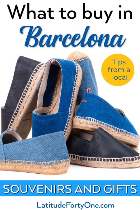 Souvenir Of Last Beautiful Day For >> What To Buy In Barcelona Souvenirs And Gifts Latitude 41