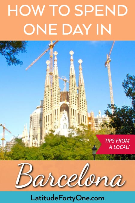 Things to do in Barcelona in one day