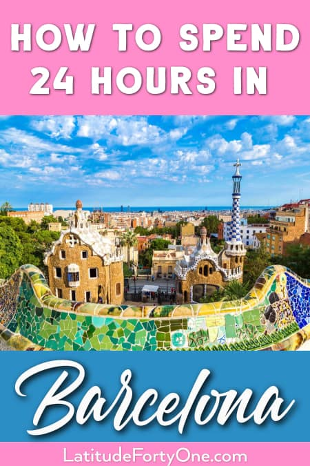 Things to see in Barcelona in one day