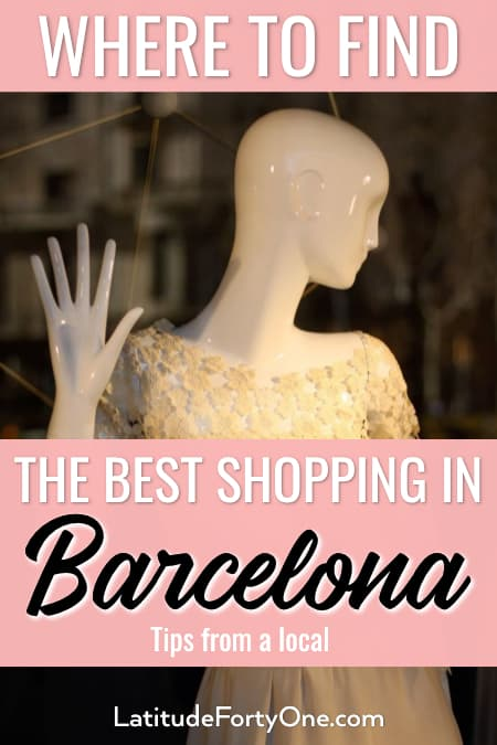 Where to shop in Barcelona, Spain