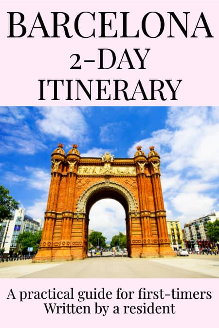 How to see Barcelona in 2 days