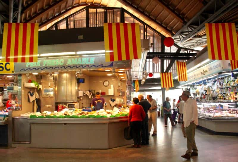 Places to see in Barcelona in 2 days: Santa Caterina market