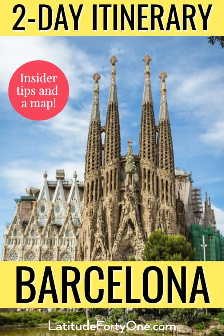 two days in Barcelona, Spain