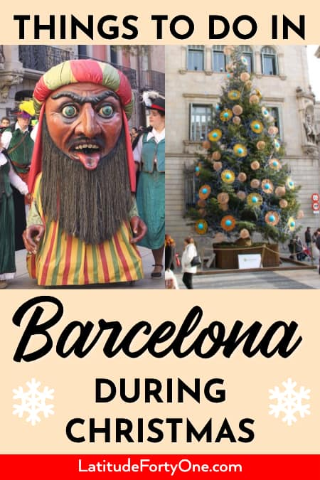 Things to do in Barcelona during the winter