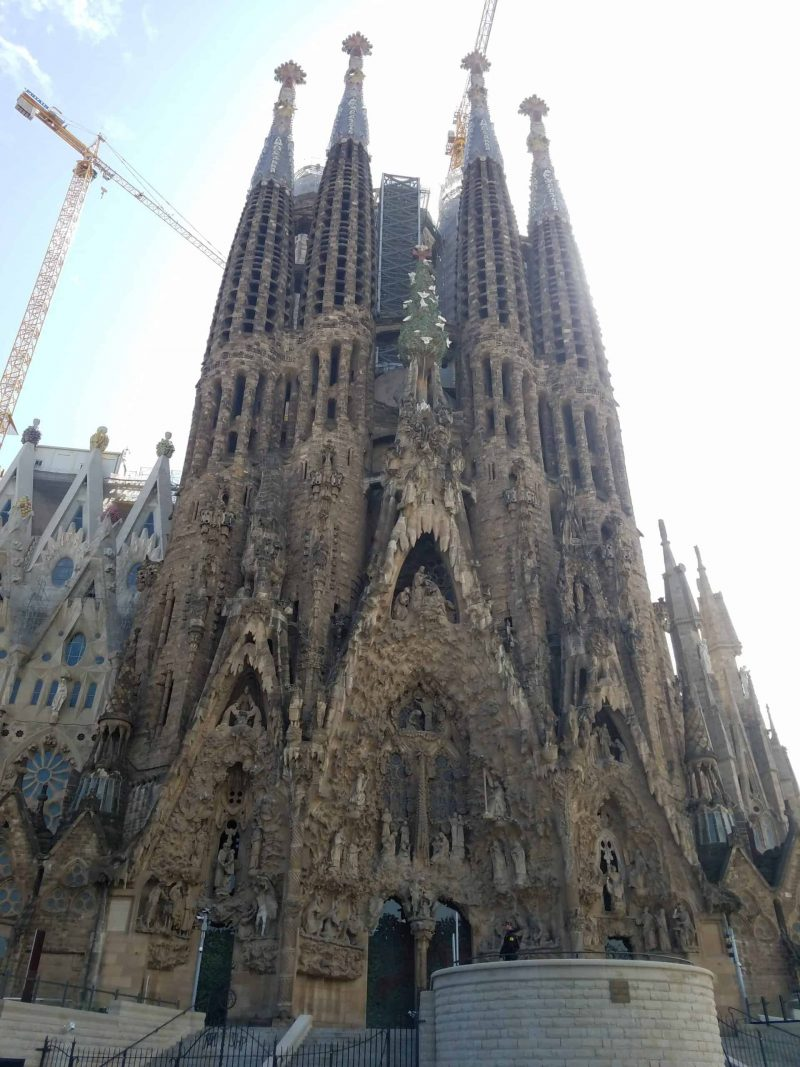 Sagrada Familia after the coronavirus lockdown