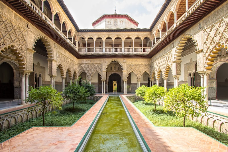 Virtual tour Spain monument El Alcazar