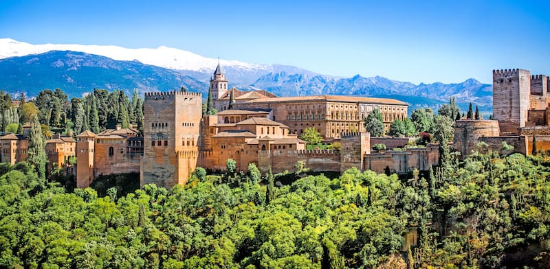 Spain virtual tour, including the Alhambra