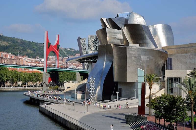 Spain tourist attraction, Bilbao Guggenheim museum
