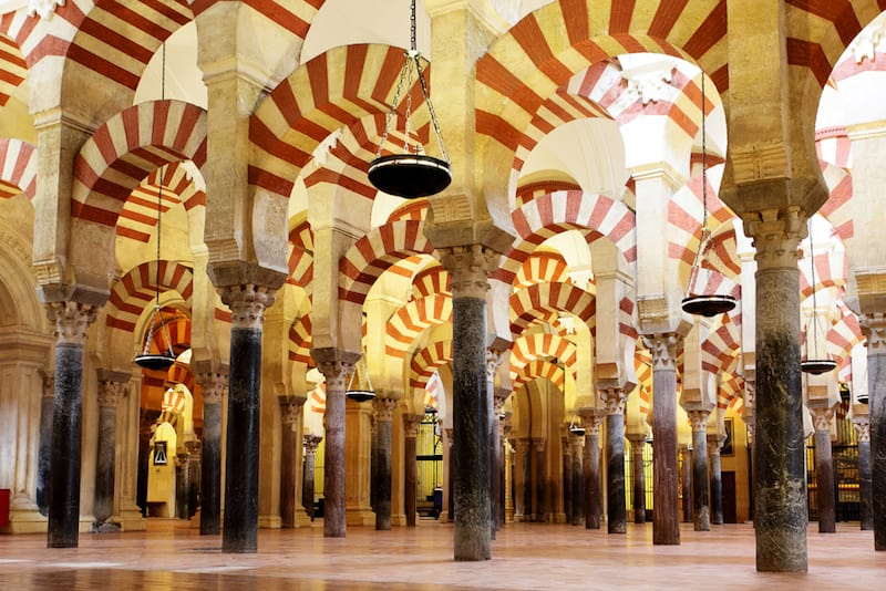 La Mezquita, one of Spain's famous landmarks