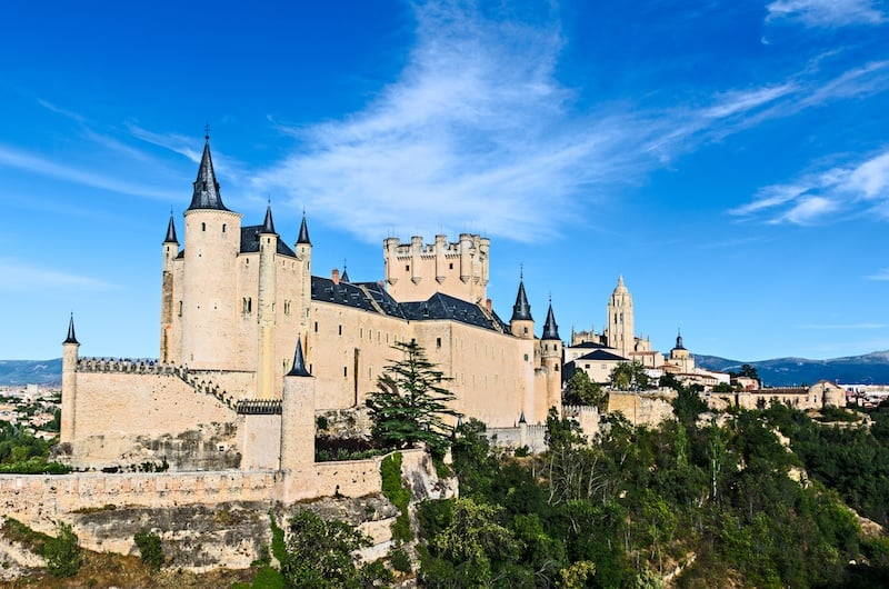 A Spain attraction, Segovia Alcazar
