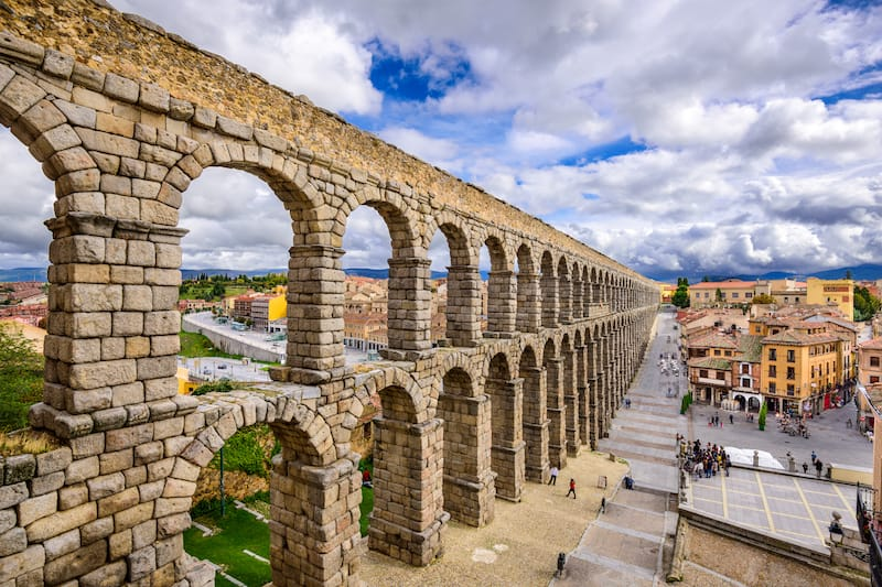 Underrated Spain landmarks, Segovia's aqueduct