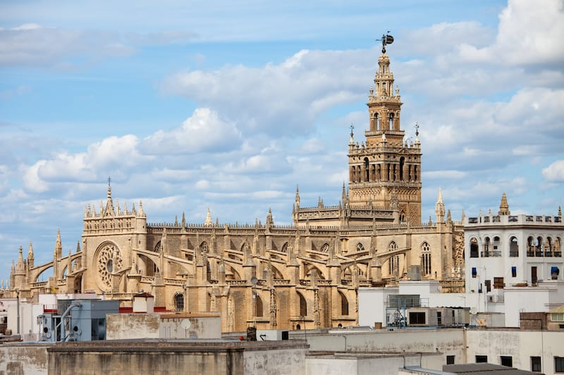 Famous places in Spain, Seville Cathedral
