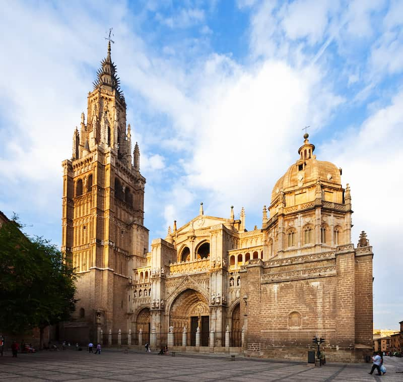 Cathedral of Toledo, famous monuments of Spain