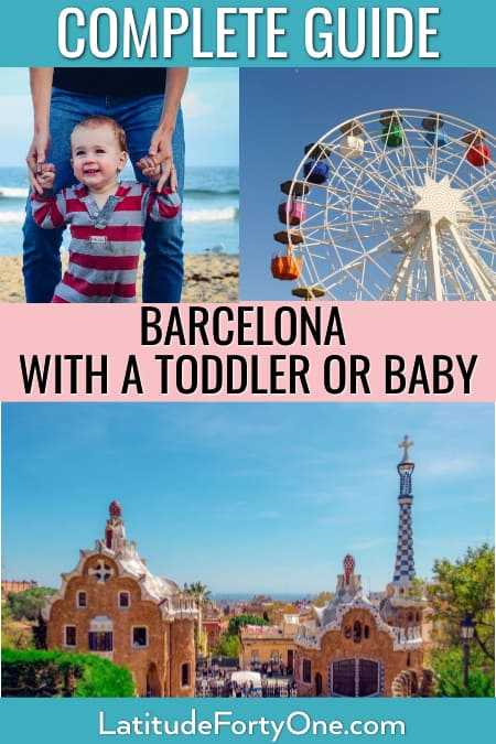 Barcelona with toddler