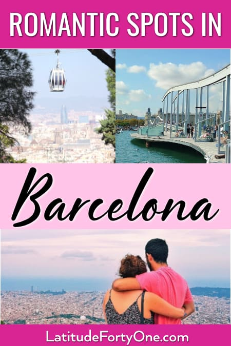 Romantic places to go Barcelona