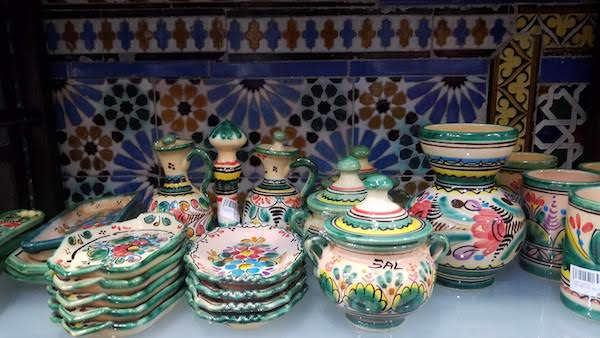 Ceramics, one of the best souvenirs from Spain