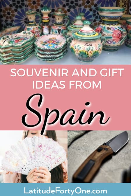 Traditional Spanish gifts