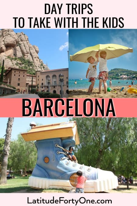 Barcelona day trips with the kids