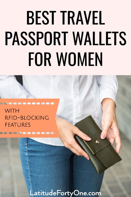 Best travel passport wallets for women